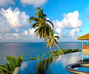 holidays, seychelles, and resort image
