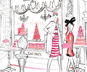 fashion, laduree, and paris image