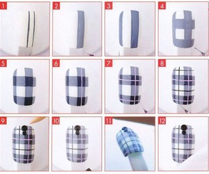 plaid step by step image
