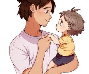 anime, haikyu, and enfant image