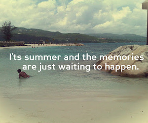 memories, quote, and summer image