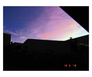 OMG, sunset, and sky image