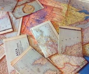 geography, map, and maps image