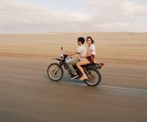 couple, boy, and desert image