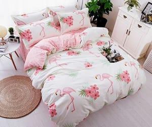 cama, casa, and decoracion image