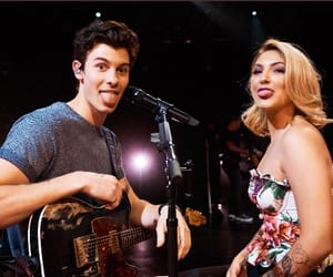 shawn mendes, julia michaels, and shawn image