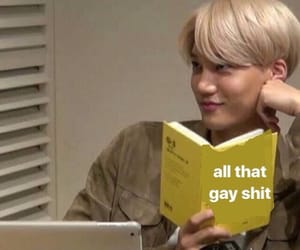 kpop and reaction image