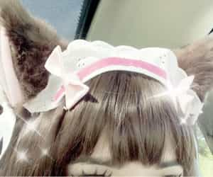 kawaii, cute, and cat ears image