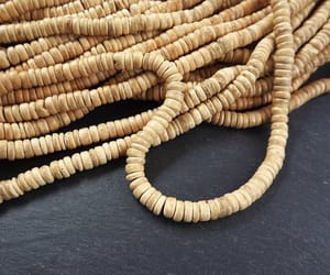 etsy, wooden beads, and heishi beads image