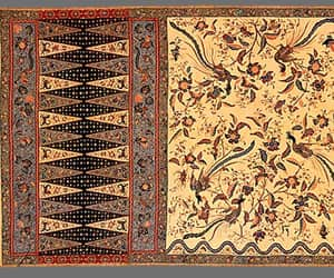 antique, batik, and floral image