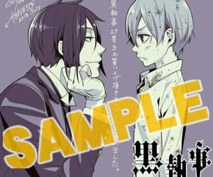 anime, sebaciel, and ciel image
