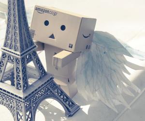 paris, danbo, and angel image