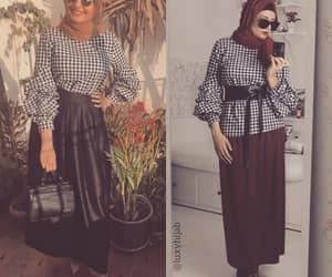 fashion, love, and hijabistyle image