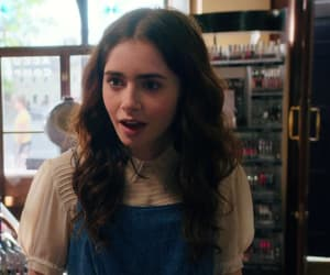 lily collins, actress, and girl image
