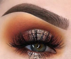 eye, eyelash, and eyeshadow image