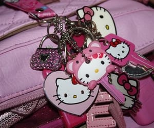 hello kitty, pink, and pretty image