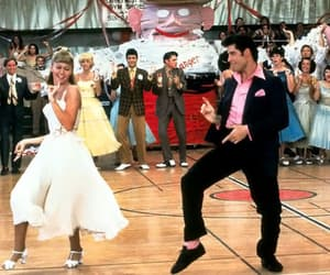 grease, John Travolta, and film image