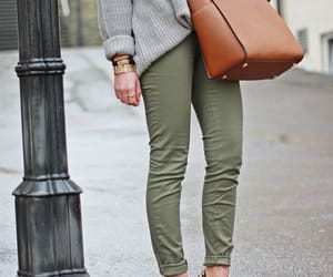 bags, fashion, and green image
