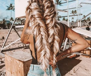 aesthetic, braids, and classy image
