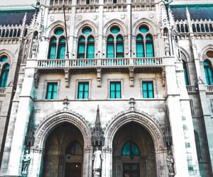 budapest, hungary, and building image