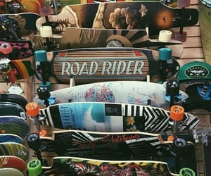 longboard and skater image