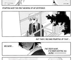 black&white, mizutani shizuku, and manga image