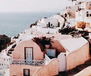 Greece, ocean, and aesthetic image