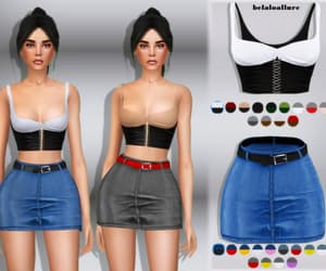 clothes, ts4, and sims 4 image