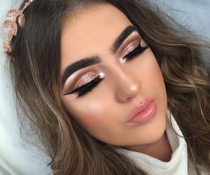 makeup, girl, and make image