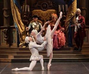 ballerina, pas de deux, and Svetlana Zakharova image