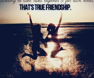 friendship, friends, and text image