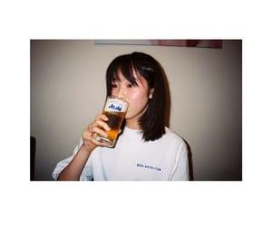 drink, erika, and girl image