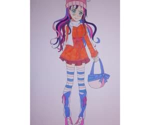 draw, girl kawaii, and girl draw image