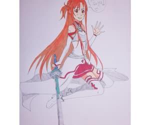 anime and manga, anime art, and asuna image