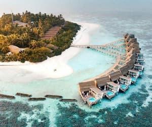 Maldives, travel, and Island image