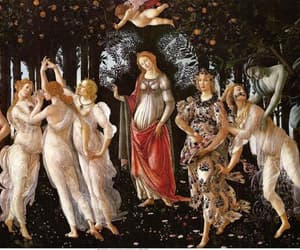 art, botticelli, and painting image