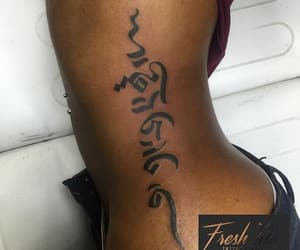 calligraphy, quotes, and Tattoos image