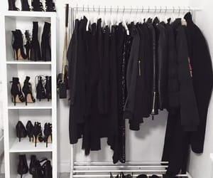 black, clothes, and shoes image