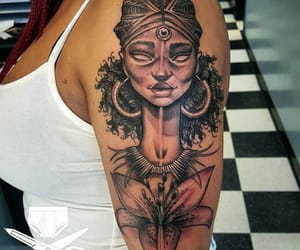art, lit, and Tattoos image
