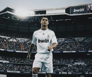cristiano ronaldo, real madrid, and hala madrid image