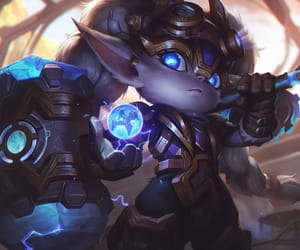 lol, hextech, and poppy image