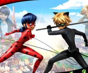 ladybug, Chat Noir, and miraculous image