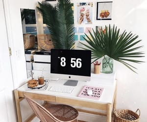 design, room, and computer image