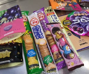 japan, snack, and sweet image