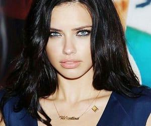 Adriana Lima, model, and make up image