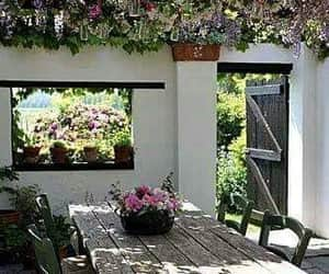 decoration, garden, and flowers image