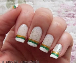 brasil, nails, and world cup image