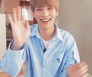 gif, korean, and smile image