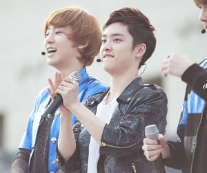 exo couples, kyungsoo, and chanyeol image