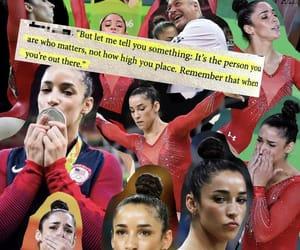 alexandra, gymnast, and gymnastics image